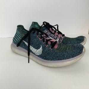 Nike Free Rn Flyknit Women's Running Shoes 10